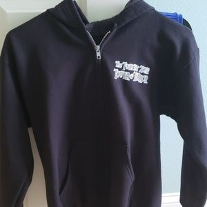 Disney hooded sweat shirt